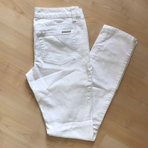 Michael Kira white jeans